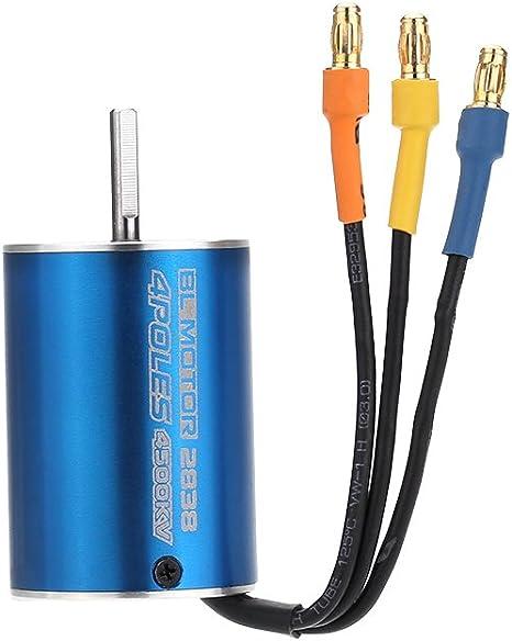 2838 4500Kv 4P Sensorless Brushless Motor  35A Brushless Esc Electronic Speed