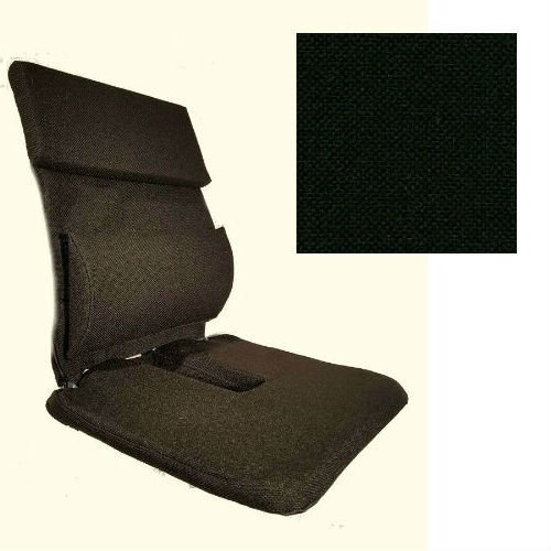 McCartys Sacro Ease Xtra-Pad Series BRSC-RXM-XP Ergonomic Coccyx Cutout Car Seat Support, 15-Inch Wide - Black Fabric - Plus Free Ergonomics Ebook