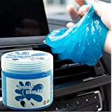 Sendida Car Cleaning Putty Detailing Glue - Auto Interior Cleaner Kit Gel Putty Slime Detailing Mud Dust Set for PC Tablet Laptop Keyboards Car Vents Cleaner Goop
