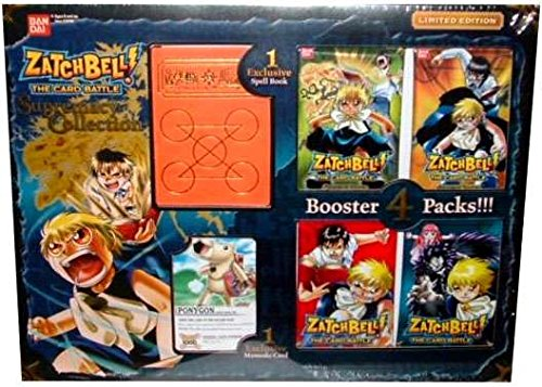 (Zatchbell! CCG Supremacy Collection Box by Bandai)
