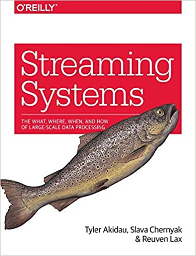 Portada libro Big Data Streaming Systems