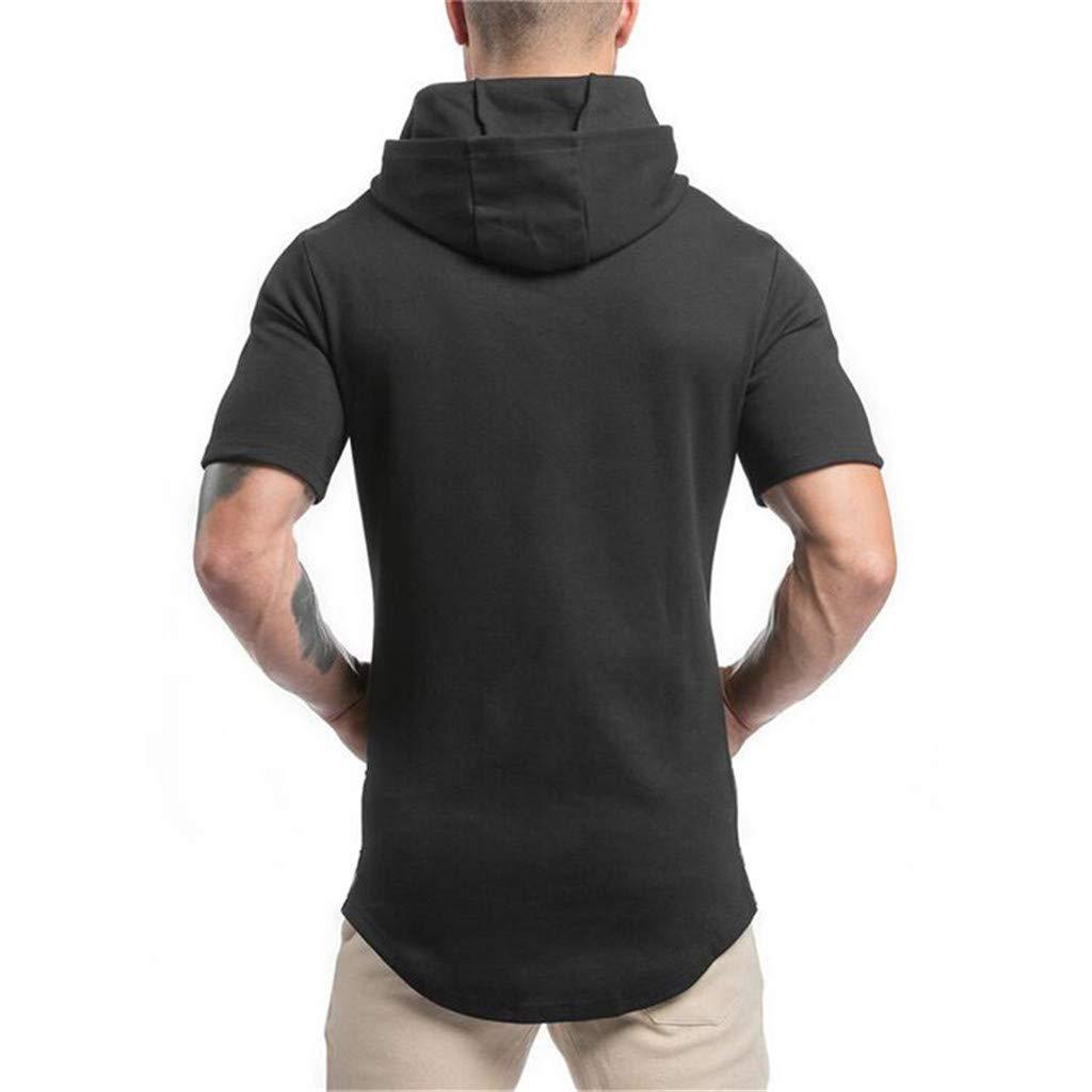 BASACA - Camiseta de Manga Corta para Hombre y niño Negro M ...