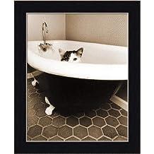 Kitty III by Jim Dratfield Black White Photography Wall Art Print Framed Décor