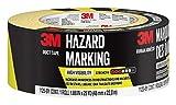 3M Hazard Marking Duct Tape, Black & Yellow, 1.88