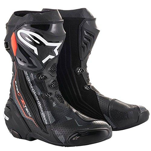 [해외] alpinestars(알파인 스타의)오토바이 부츠 블랙/다크 그레이/레드 플론 41/26.0cm SUPERTECH-R(슈퍼 텍R)부츠0015