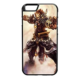Wukong-002 League of Legends LoL case cover for Apple iPhone 6 Plus - Rubber Black