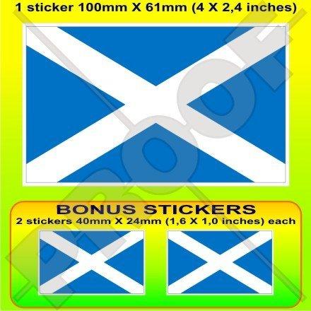 (SCOTLAND Scottish Flag UK Saltire, St Andrew's Cross 4