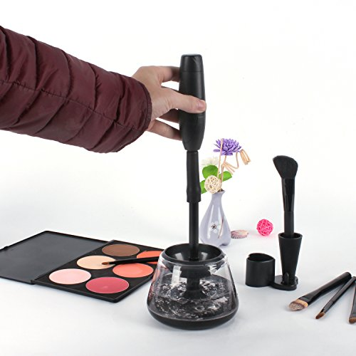 Makeup Brush Cleaner and Dryer Machine Muses,Clean and Dry All Makeup Brushes in Seconds with 2 Adjustable Speeds,Gift For Women, Mom, Girls, Her by Muses (Image #6)