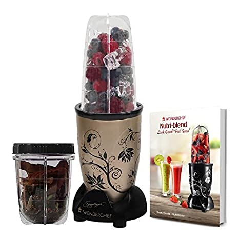 Wonderchef Nutriblend 63152343 400-Watt Hand Blender (Champagne) Hand Blenders at amazon