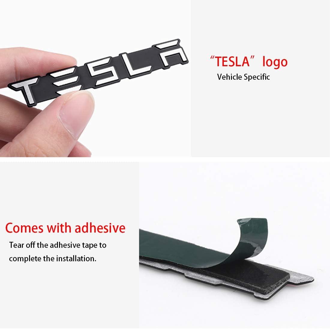 Aluminum Alloy Aluminum Alloy Audio Decorative Stickers Modified Accessories Decoration Decal Badge for Tesla Model 3//S//X