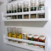 Ikea Gewürzregal ikea bekväm gewürzregal birke massiv 40x10x9 cm amazon de küche