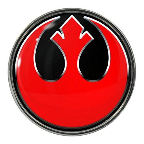 Heroic Rebel Design Metal Pin Badge (Metal Rebels)