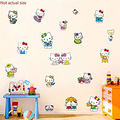 Assemble Peel and Stick Decal Stickers for Wall, Luggage and More. Kitty: Arts, Crafts & Sewing