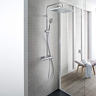 Roca Roca Even A5A2080C00 - Columna de ducha termostática ...