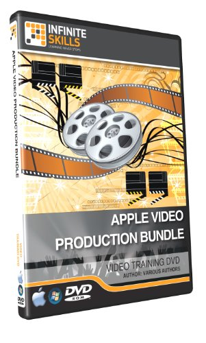Apple Video Production Bundle (FCPX - Motion - Compressor) - 23 hours of Training Videos on DVD