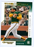Reggie Jackson baseball card (Oakland Athletics) 2003 Donruss Team Heroes #374 (67)