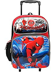 Marvel Spiderman Home Coming Large 16 Rolling Backpack