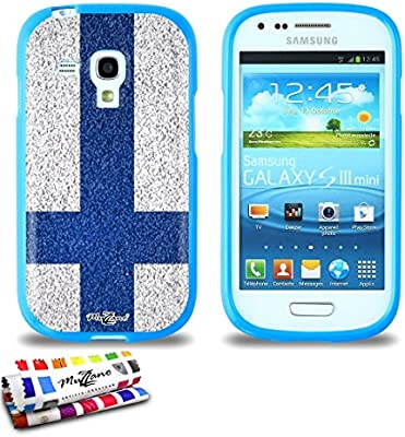 Amazon.com: GENUINE Extra-Slim flexible Blue Case Finland ...
