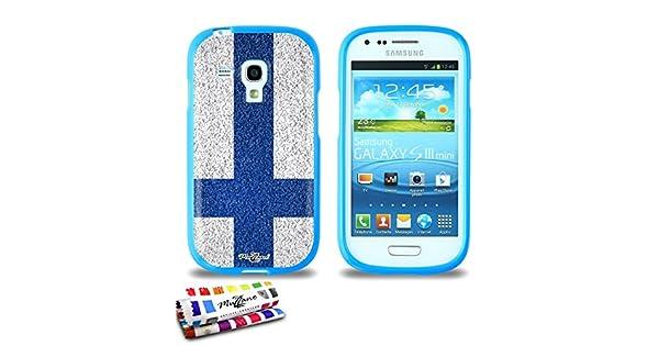 Amazon.com: GENUINE Extra-Slim flexible Blue Case Finland ...