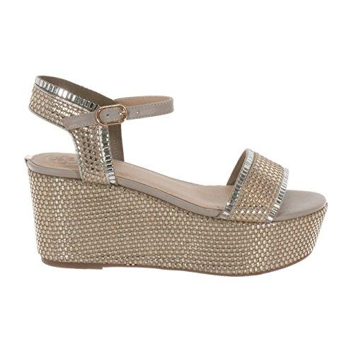 Guess Sandalo Zeppa Donna FLLS22-LEL03 Primavera/Estate 39 JjreyA