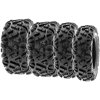 Quad and Go Kart 22x7x10 US shipment 2 PCS of 23x7-10 36F Tire for ATV