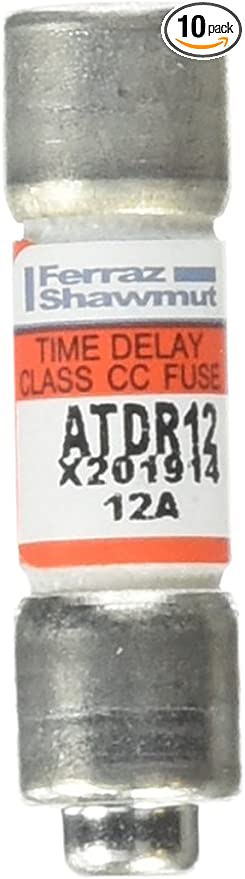 ATDR12 Fuse Time Delay Class CC 12A Ferraz Shawmut