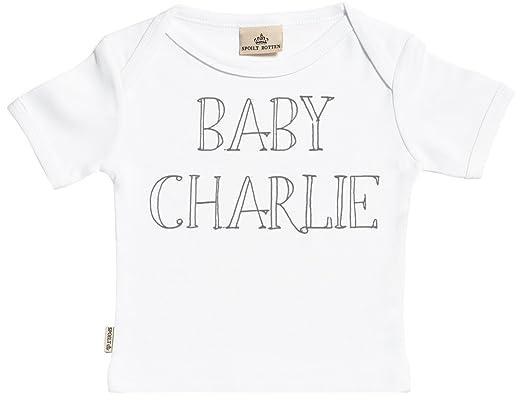 Regalos Bebe Personalizados Amazon.Spoilt Rotten Personalizados Bebe Baby Name Camisetas