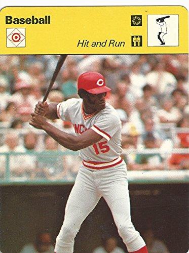 1977-79 Sportscaster Card, 45.17 Baseball, George Foster, Reds