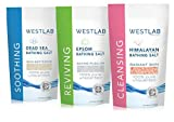 Westlab's Bathing Salt Bundle (Himalayan, Dead Sea & Epsom Salts) 3 Total X 2.2lb Resealable Bags