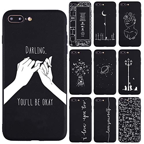 b1f2a3e5fa2 Amazon.com  Lover Darling Equation Print Phone Cases for iPhone 7 8 ...