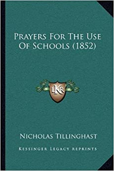 Prayers for the Use of Schools (1852)