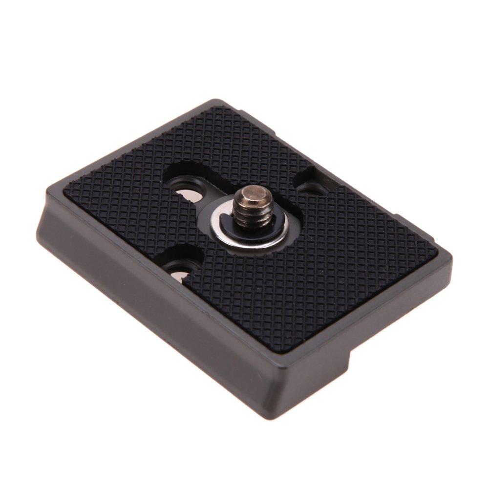 DP-iot 1//4 Screw Hole Quick Release Plate for Manfrotto 200PL-14 Camera Metal Alloy Compatible with for Manfrotto Tripod