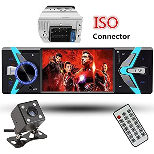 Buy Car Rear View Camera + 4.1'' Cavogin Car Stereo With Bluetooth Single Din FM Radio and MP5 Player USB/SD/AUX/FM Receiver Wireless Remote Control