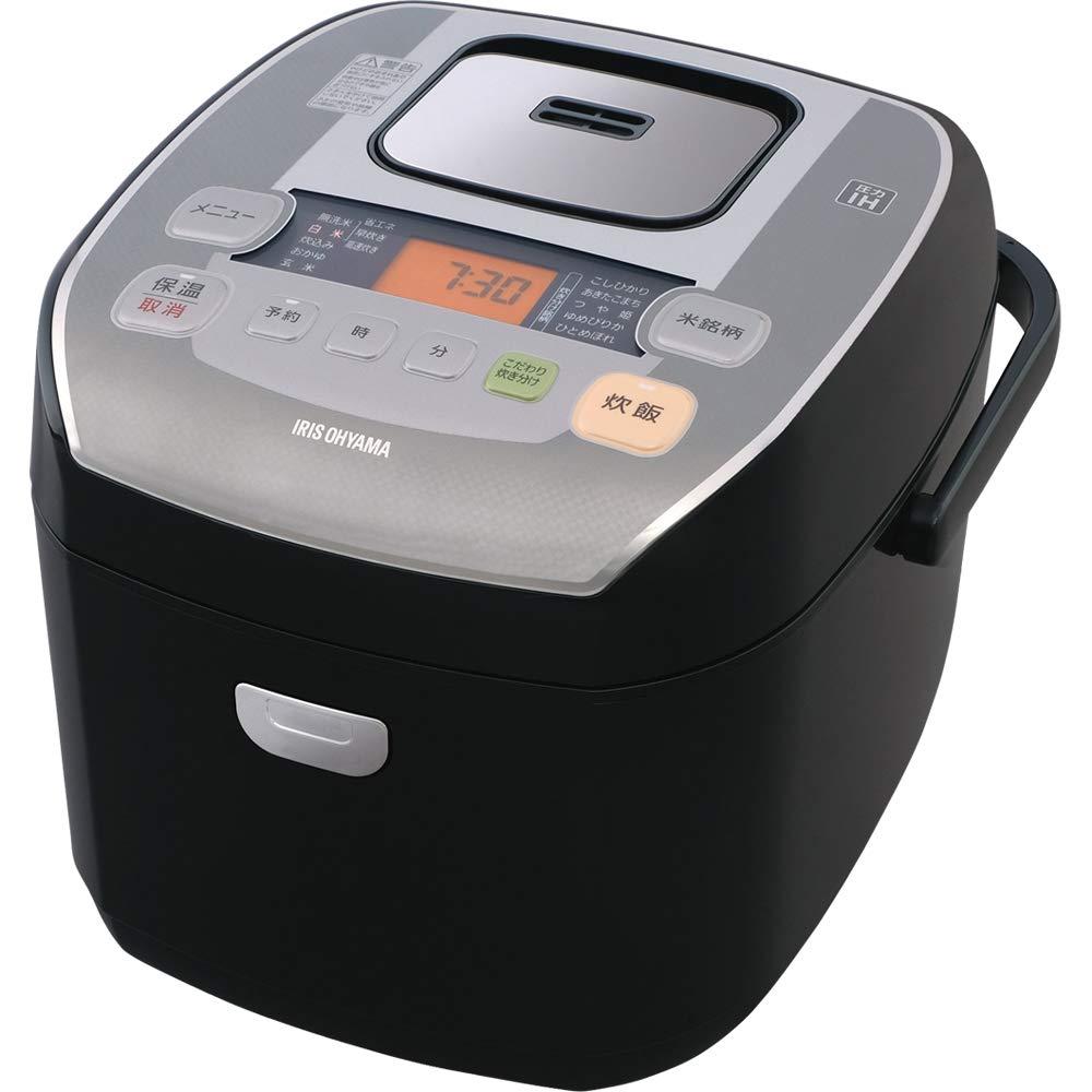 アイリスオーヤマ 炊飯器 圧力IH式 10合 銘柄炊き分け機能付き 米屋の旨み RC-PA10-B   B07NRL8WND