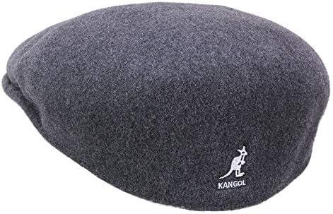 Kangol Wool 504 - Gorra plana para hombre - gris: Amazon.es: Ropa ...