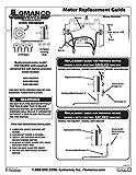 Lomanco Power Vent Motor Replacement F0510B2944