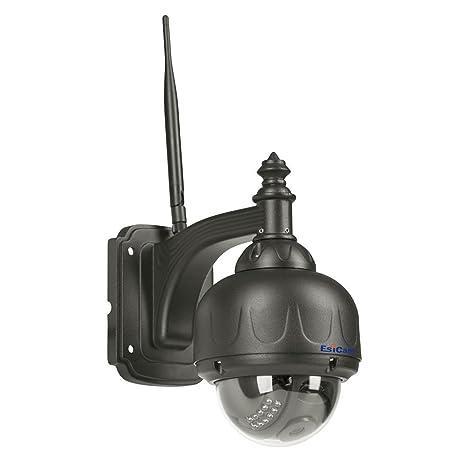 EsiCam HN11 720P Impermeable WIFI Cámara de la velocidad vigilancia de la bóveda PT al aire ...