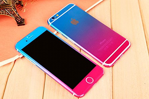Furivy stickers for iphone 6 plus fashion gradient screen protect films iphone 6 plus 5 5