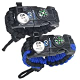 Nexfinity One Survival Paracord Bracelet - Tactical...