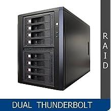 Thunderbolt 2 Eight SATA | SAS (6Gb/s) RAID5/6, quiet tower - upgrade-able to thunderbolt 3