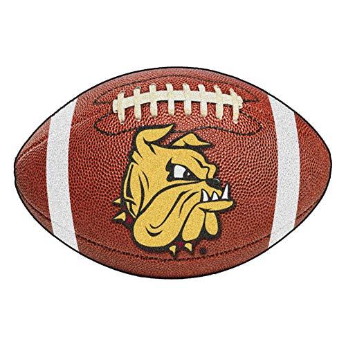 - FANMATS NCAA University of Minnesota-Duluth Bulldogs Nylon Face Football Rug