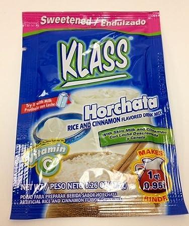 Amazoncom Klass Horchata Rice And Cinnamon Flavored Drink Mix 3