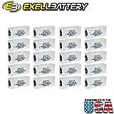 20pc Exell 413A Alkaline 30V Battery NEDA 210, 20F20, BLR123 ER413