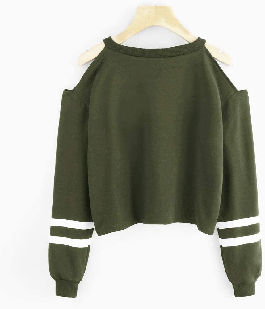 Sunnsean Women S Short Sleeved Hoodies Tumblr Sport Spring Winter T Shirts Long Sleeve Teens Girls Sweater Hoodie Hollow Tops Print Alphabet Rebates Size Large Small Army Green Amazon Co Uk Musical Instruments