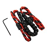 Safari Choice Archery Aluminum Mounting Double Wided Braided Bow Sling, Red