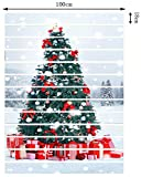 FLFK 3D Christmas Tree with Present Boxes PVC
