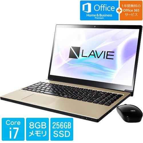 PC-SN187DEAC-2 [LAVIE Smart NEXT(Core i7 8GB SSD256GB BDXL 15.6 H&B Win10 グレイスゴールド)]   B07C6QQF2N