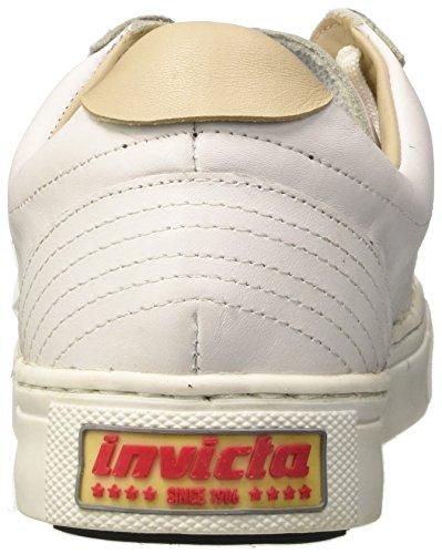 Invicta Striscia Laterale, Sneaker a Collo Basso Unisex-Adulto bianco