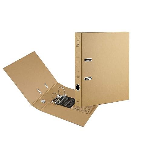 Amazon.com: DEI QI Carpeta A4 Carpeta de Archivadores Punch ...
