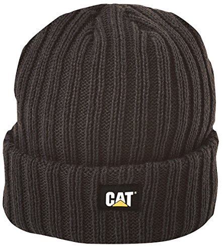 Caterpillar Rib Watch Cap, Black, One Size